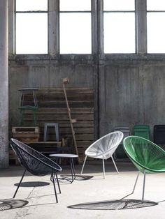 KARWEI  Deze stoelen zijn een echte eye-catcher voor in je tuin. #karwei #tuin #tuinmeubels