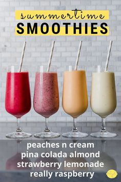 Good Smoothies, Smoothie Drinks, Smoothie Bowl, Protein Smoothies, Smoothie Recipes, Yummy Healthy Snacks, High Protein Snacks, Easy Healthy Breakfast, Delicious Recipes