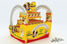 Nido Visit ( Mega Floors 2 Options , Gondola and Stand) by HossaM Alabyad, via Behance