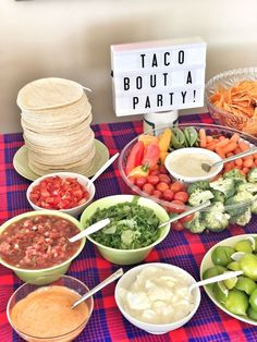 to create a First Fiesta - Mexican theme birthday party Fiesta party. Taco 'bout a party. Taco 'bout a party. to create a First Fiesta - Mexican theme birthday party Fiesta party. Taco 'bout a party. Taco 'bout a party. Fiesta Theme Party, Festa Party, Shower Party, Mexico Party Theme, Fiesta Party Decorations, Fiesta Party Foods, Fiesta Gender Reveal Party, Work Party, Food Recipes