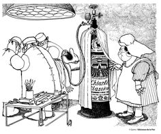 A la buena mesa/Quino Funny Bunnies, Humor Grafico, Comic Strips, Comic Art, Sci Fi, Medicine, Cartoons, Illustrations, Mafalda Quino