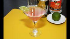 Cosmopolitan cocktail – reteta video Cocktails, Drinks, Cosmopolitan, Martini, Tableware, Self, Craft Cocktails, Drinking, Beverages