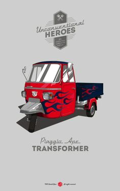 The Vehicles From Famous Movies Illustrated As Real-Life Automobiles - DesignTAXI.com