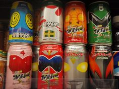Kamen Rider and Super Sentai soda