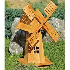 DIY Decorative Windmill Wooden Ornament art