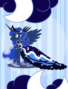 After 2 seasons, my first My Little Pony fanart! Without counting Fluttershy, there is another pony that I like a lot, and that is Princess Luna! I just fell in love with her design when I first sa...