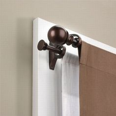 How to Choose a Decorative Double Curtain Rods - http://www.lesimonrealestate.com/how-to-choose-a-decorative-double-curtain-rods/
