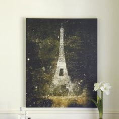 Luminaire Eiffel Tower Print | Ballard Designs - for my French obsession - to put in home office