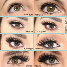Lash Styles Tell us your favorite lash style ? <->You can find Maquiagem and more on our website.Lash Styles Tell us your favorite lash style ? Pretty Eye Makeup, Pretty Eyes, Makeup Looks, Makeup Inspo, Makeup Inspiration, Makeup Tips, Makeup Ideas, Beauty Skin, Beauty Makeup