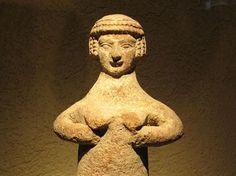 I got : Asherah - The Topless Mother Goddess!