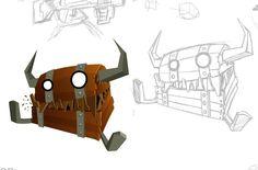 Treasure chest monster - mimic rpg
