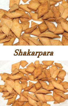 Here is the recipe for Shakarpara. Shakarpara are sugar coated flour pieces which are deep fried. Shakarpara can be stored for 2 -3 weeks. I made this Shakarpara with left over sugar syrup. I have also given the recipe of sugar syrup.