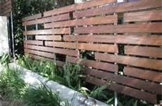 Good ideas for a privacy fence