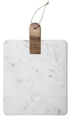 Planche à découper marbre bois et cuir