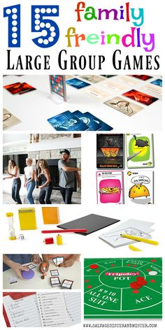 Having a large group get together? Here are 15 family friendly large group games that create lasting Group Board Games, Indoor Group Games, Large Group Games, Group Games For Kids, Family Fun Games, Family Game Night, Family Activities, Adult Party Games For Large Groups, Couple Games