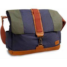 J World Sam Canvas Backpack, Blue