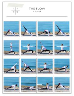 Printable Yoga FLOW Sequence