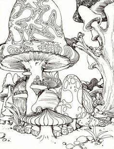 ☮ American Hippie Coloring Page Zentangle Tattoo Idea Art ☮