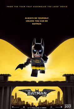 It's Batman Day! celebrates it with the release of this nifty new poster for LEGO Batman. The LEGO Batman Movie stars Will Arnett (Batman), Rosario Dawson (Batgirl), Ralph […] Lego Batman 2017, Lego Batman Movie, Batman Party, Lego Dc, Lego 2017, Lego Spiderman, Batman Birthday, 7th Birthday, Joker Und Harley