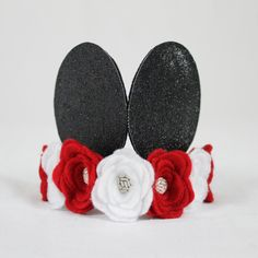 Minnie Mouse Inspired Mickey Ear Crown https://www.etsy.com/listing/267389463/minnie-mickey-mouse-ears-minnie-mouse