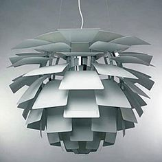 Overstock Arti 1-light Stainless Steel Hanging Lamp $355....PH Artichoke look alike but how is the quality??
