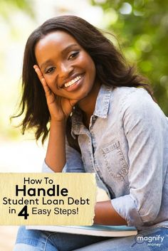 Unfortunately, many students don't realize just how much student loan debt they have until it comes time to pay it off!  Here's how to not get blindsided by your student loans http://www.magnifymoney.com/blog/college-students-and-recent-grads/student-loans-necessary Student Loans Payoff #StudentLoans #debt debt strategies, pay off debt, how to pay off debt #debt