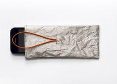 Handytaschen - Versteck-Handyhülle - Die smarte Minimallösung - ein Designerstück von Werkstatt-Birgit-Lindemann bei DaWanda