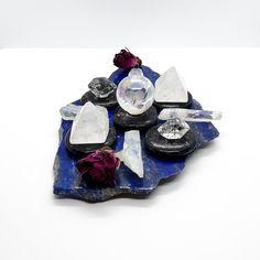 Archangel Michael Cord Cutting Gird. Starseed Healing. Angel Healing. Letting Go. Lapis Lazuli. Nuummite. Herkimer Diamond. #K343