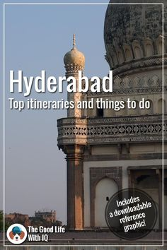 Hyderabad itineraries, and things to do in the city Travel Photos, Travel Tips, India Destinations, Stuff To Do, Things To Do, Incredible India, Amazing, India Travel, Hyderabad
