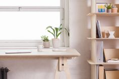 London-based Opendesk – whose business model is based around an online database of designs for digital fabrication – worked with London-based Thor ter Kulve to create a workstation based on Japanese joinery techniques.