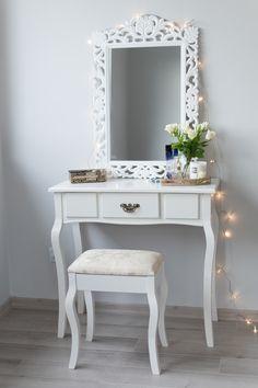 Decor, Furniture, Vanity Mirror, Room, Home, Bedroom Decor, Bedroom