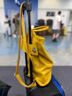 Love travelling with Stella! Carry as backpack or as a square tote that accomodates magazines, small computer, water bottle. Zip closure. Back zip pocket great for mask, ID and passport. Two inside slip pockets for phone and readers. Small inside zip wall pocket. Many colors. #carryonbag #tote #pursesandbags #backpackstyle #bagsandpurses #bags #travelinspo #leatherhandbags #womenbag Small Computer, Italian Leather Handbags, Leather Backpack Purse, How To Make Handbags, Travel Tote, Stitching Leather, Passport, Fashion Backpack, Magazines