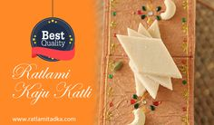 FREE HOME DELIVERY ALL INDIA  Special Offer for you | Special KAJU KATLI | @ Upto 10% off Fast shop now @ http://www.ratlamitadka.com/