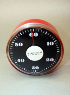 Retro Kitchen Timer, Vintage Egg Timer, brand Kienzle from Germany, W…