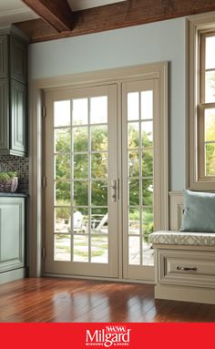8 Unconventional Sliding Glass Door Alternatives - Housessive Sliding glass doors are a popular choice among house owners but there are great unconventional alternatives which will make your home unique. Hinged Patio Doors, French Doors Patio, Modern Patio Doors, Interior Sliding French Doors, Single Patio Door, Single Doors, Double Doors, Single French Door, Door Alternatives
