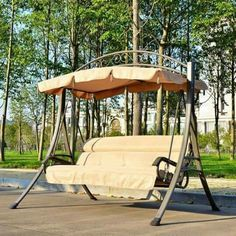 Garden Chairs, Swings & Benches for sale Lawn Swing, Garden Swing Seat, Pergola Swing, Garden Chairs, Pergola Plans, Diy Pergola, Corner Pergola, Wooden Swing Set Plans, Wooden Swings