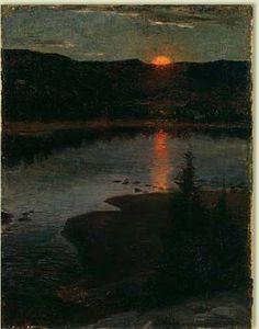 Prins Eugene   Landskap Måleri