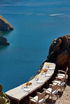 Perfect Place to eat in Santorini, Greece
