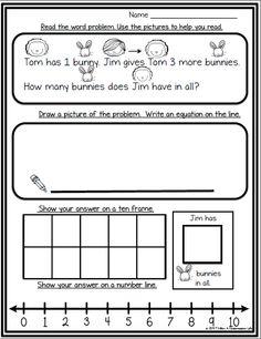 Spring Themed FREEBIE - Solving Word Problems using Multiple Strategies