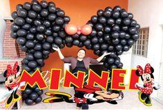 Como Fazer Arco Orelha da Minnie de Balões (sem Estrutura)