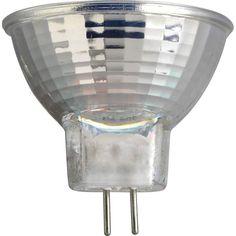 Progress Lighting P7830 35W GU4 Base MR11 Halogen Light Bulb - MFL Coated Clear Bulbs Bulbs Halogen