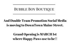 WE are going to save our business and MOVE to downtown. Opening day is March 1st. We have funds we need to raise for this but it's a done deal - so in honor of that 50% off the backroom B tag items....Or you can purchase Tupperware from our Tupperware fundraiser for this ... click on link http://www.tupperware.com/b/10106844011?fundraiser=56bb8ec55ca7e6c370d9d560 #doubleteampromotionsocialmedia #BubbleBoyBoutique