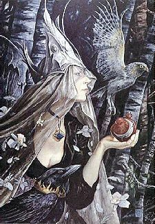 Cover art by Brian Froud for The Dreaming Place by Charles de Lint