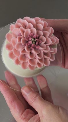 Cake Decorating Frosting, Creative Cake Decorating, Cake Decorating Designs, Cake Decorating Videos, Cake Decorating Techniques, Cookie Decorating, Buttercream Flowers Tutorial, Frosting Flowers, Buttercream Cake Designs