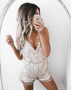 60 Trending And Girly Summer Outfits From Fashionista : Emily Rose Hannon Fishnet Romper Half Updo, Cozy Winter Outfits, Summer Outfits, Boutique Fashion, Mode Jeans, Emily Rose, Casual Elegance, Cool Outfits, Girly Outfits