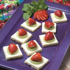 Kiwi Dessert Squares Recipe.  My all-time favorite, go-to dessert recipe for special occasions.  Taste as good as they look :).