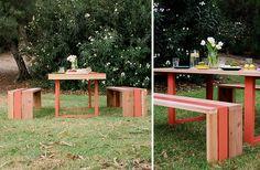 Patio long table