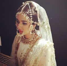 Backstage Ali Xeeshan. South Asian desi wedding couture.