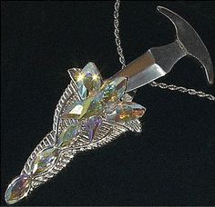 Elvenspike Classic Necklace Knife by BladesofTara on Etsy