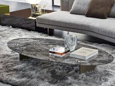 Oval Coffee Tables, Coffe Table, Coffee Table Design, Dining Table, Studio Mk27, Mobile Bar, Marble Top, Modern Classic, Centerpieces